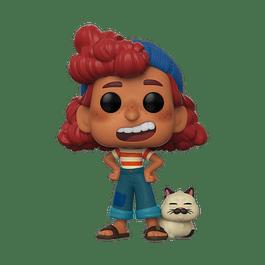 POP! Disney Pixar Luca: Giulia Marcovaldo with Machiavelli