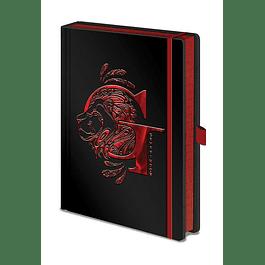 Notebook A5 Premium Harry Potter Gryffindor Foil
