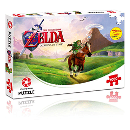 Puzzle 1000 Peças The Legend of Zelda Ocarina of Time