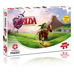 Puzzle 1000 Peças The Legend of Zelda Ocarina of Time