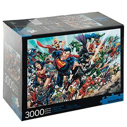 Puzzle 3000 Peças DC Comics Cast