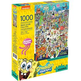 Puzzle 1000 Peças SpongeBob SquarePants Cast