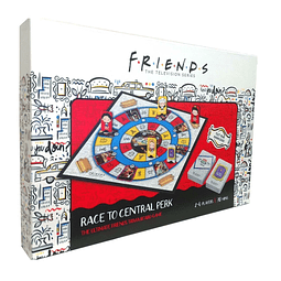 Friends Board Game Trivia Race To Central Perk