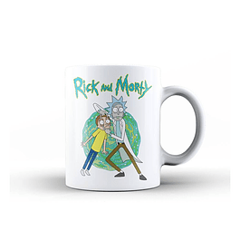 Caneca Rick and Morty Open Your Eyes