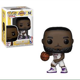 POP! Basketball: Los Angeles Lakers - LeBron James (White Uniform)
