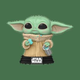 POP! Star Wars: The Mandalorian - Grogu with Cookies