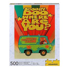 Puzzle 500 Peças Scooby-Doo Where Are You?