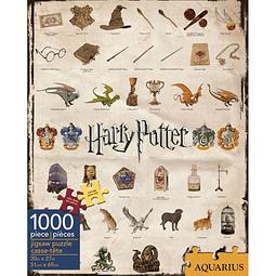 Puzzle 1000 Peças Harry Potter Icons