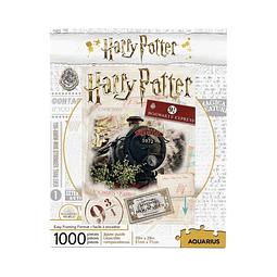 Puzzle 1000 Peças Harry Potter Hogwarts Express Ticket