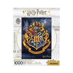 Puzzle 1000 Peças Harry Potter Hogwarts Logo