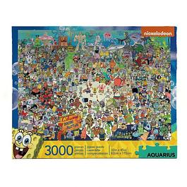Puzzle 3000 Peças SpongeBob SquarePants Bikini Bottom