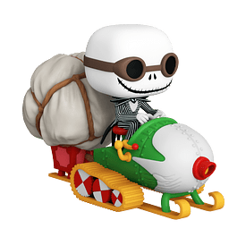 POP! Rides: The Nightmare Before Christmas - Jack & Snowmobile
