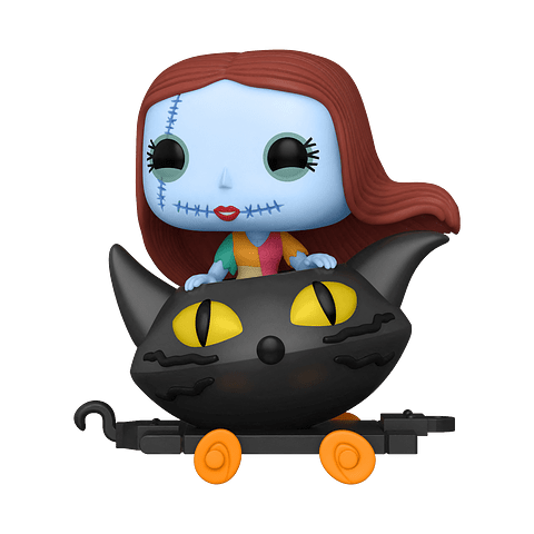 POP! Train: The Nightmare Before Christmas - Sally in Cat Cart