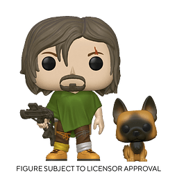 POP! TV: The Walking Dead - Daryl with Dog