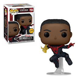 POP! Games: Marvel Spider-Man - Miles Morales (Classic Suit) Chase Edition