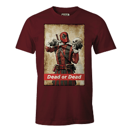 T-shirt Marvel Deadpool Dead or Dead