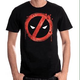 T-shirt Marvel Deadpool Forbiden Splash Head