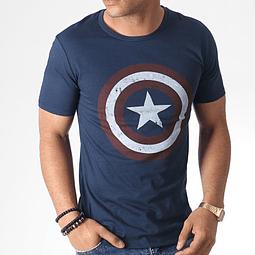 T-shirt Marvel Captain America Shield Grunge