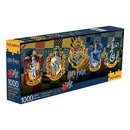 Puzzle 1000 Peças Harry Potter Crests