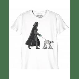 T-shirt Criança Star Wars Vader take out the AT-AT
