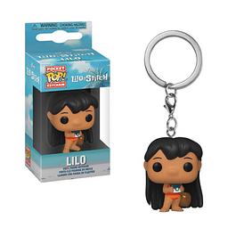 Porta-chaves Pocket POP! Disney Lilo & Stitch: Lilo