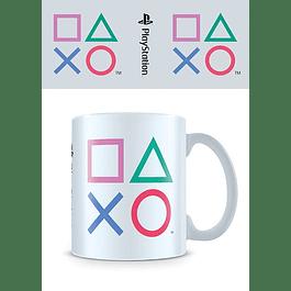 Caneca PlayStation Shapes