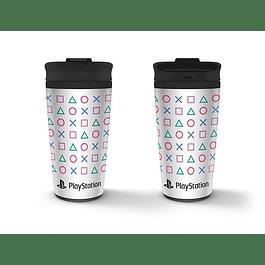 Travel Mug PlayStation Shapes