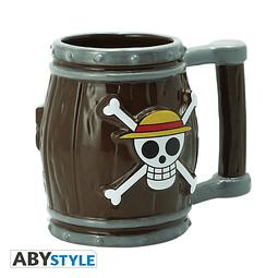 Caneca 3D One Piece Barrel