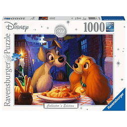 Puzzle 1000 Peças Disney Collector's Edition Lady and the Tramp