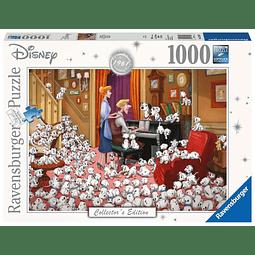 Puzzle 1000 Peças Disney Collector's Edition 101 Dalmatians