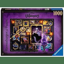 Puzzle 1000 Peças Disney VilIainous Ursula