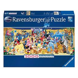 Puzzle 1000 Peças Disney Group Photo Panorama