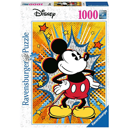 Puzzle 1000 Peças Disney Retro Mickey Mouse