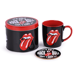 Conjunto Caneca e Base The Rolling Stones It's Only Rock'n'Roll