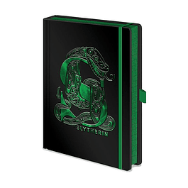 Notebook A5 Premium Harry Potter Slytherin Foil