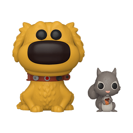 POP! Disney Pixar Dug Days: Dug & Squirrel