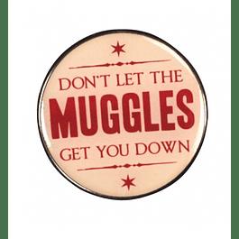 Harry Potter Enamel Pin Badge Muggles