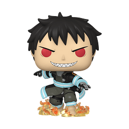 POP! Animation: Fire Force - Shinra with Fire