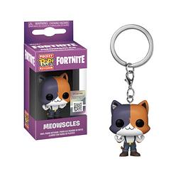 Porta-chaves Pocket POP! Fortnite: Meowscles