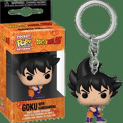 Porta-chaves Pocket POP! Dragon Ball Z: Goku with Kamehameha