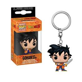 Porta-chaves Pocket POP! Dragon Ball Z: Gohan with Sword