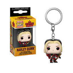 Porta-chaves Pocket POP! The Suicide Squad: Harley Quinn