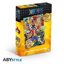 Puzzle 1000 Peças One Piece Straw Hat Crew