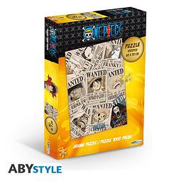Puzzle 1000 Peças One Piece Wanted