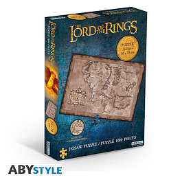Puzzle 1000 Peças The Lord of the Rings Middle Earth