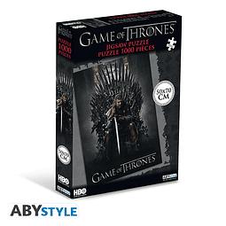 Puzzle 1000 Peças Game of Thrones Iron Throne