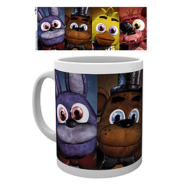 Caneca Five Nights at Freddy's Faces