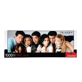 Puzzle 1000 Peças Friends Milkshake