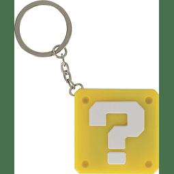 Porta-chaves Light-Up Super Mario Question Block