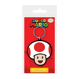Porta-chaves Super Mario Toad